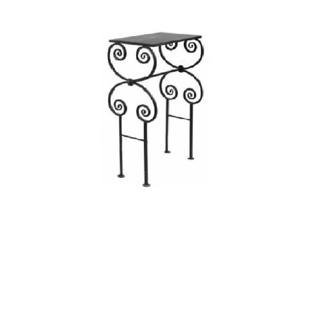 Стол ритуальный металлический